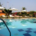 Poolside @ The Fern Beira Mar Resort, Benaulim, Goa