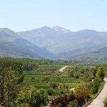 Vistas desde el Hotel Conde de Badaran. La Rioja