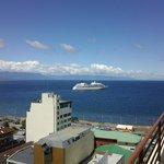Desde la habitacion, viendo un crucero