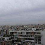 Torre Eiffel dalla terrazza panoramica