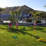 MiniGolf in Motel Oasis gardens