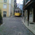 Tram 28 in Alfama