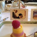 Art Tea pastry and art based on