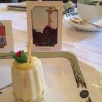 Art Tea pastries and art based on
