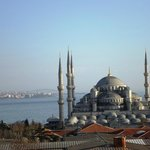 Blue mosque (view from the terrace)