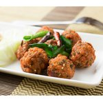 Deep-fried spiced pork balls