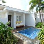 Princess Villa private plunge pool