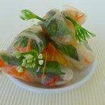 Fresh rice rolls