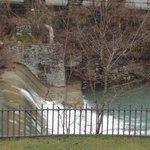 vista cascata sul Savio