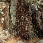 Petroglyphs in Hells Canyon