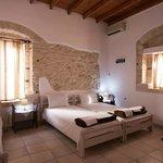 Cretan Villa Ierapetra hotel tripple room.