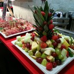 Fruit Salad Display