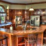 Spacious Kitchen in Mansion