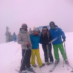 top of the piste