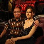 With Jennifer Aniston