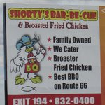 located on Rt. 66 BBQ and MORE!