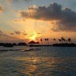 Deck principale:tramonto