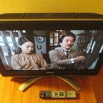 厚型TVとリモコン