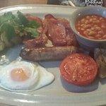 Gorgeous breakfast