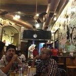 Inside Cafe Mondegar