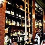 The bar at Moro