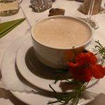 Truffled Chestnut Cream Soup...amazing
