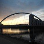 View of Squinty Bridge at Dawn