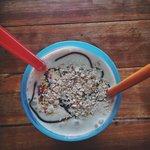 Banana, Oatmeal and Yoghurt Smoothie