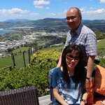 Another shot with my wife at Aorangi Peak
