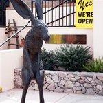 """Tubac Jack"" sculpture by Nicholas Wilson, acquired Dec. 2013"