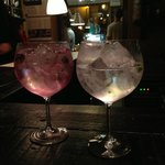 gin tonic floral