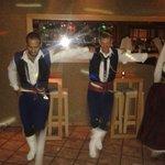 Traditionelle græske dansere
