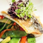 Locally sourced, fresh fish