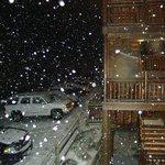 cuando cayo nieve