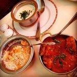 Riz Pulao, Butter Chicken et Raita