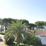 Cormoran, balcony view