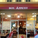 Bon Appetit Signature Red Awning!