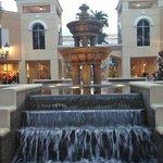 Beautiful Waterfalls all throughout Miromar Mall & near Bon Appetit Restaurant!