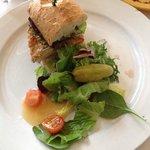 Padrino sandwich - my Dad and I split it.  YUM