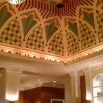 beautiful lobby at Hotel Monaco