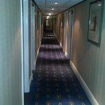 Very dated corridor
