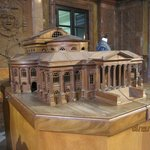 The scale model of Teatro Massimo