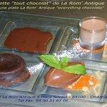 L'assiette tout chocolat de La Rom' Antique
