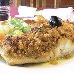 Bacalhau c/ broa