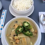 green Curry. Excellent!
