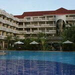 the Angkor Century Resort  & Spa  as seen from the Pool Deck