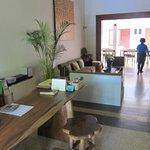 Reception area, Merbabu Guest House