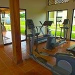 Condo Exercise Room by Pool