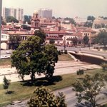 Circa 1985 from the Alameda Plaza