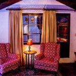 Red Suite - Terrace door